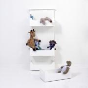 OLIVER Furniture Regal mit Boxen - weiß
