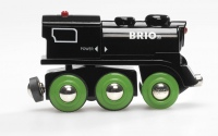 BRIO Schwarze Akku-Lok